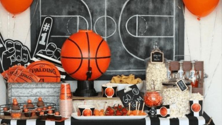 Basketball Baby Boy Shower Theme